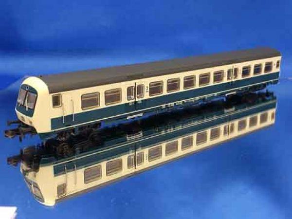 ASM - 178031 - Steuerwagen 2. Kl. mit Gepäckraum der DB, Gattung BDnrzf 732, Betr.-Nr.: 002; Innen- und wechselendes LED-Spitzenlicht (analog/DCC/SX)