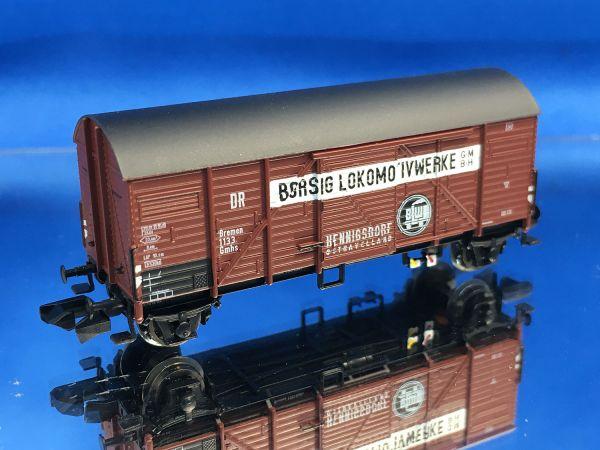 Brawa - 67323 - Güterwagen gedeckt Gmhs 35 Borsig Lokomotivwerke DRG Ep. II