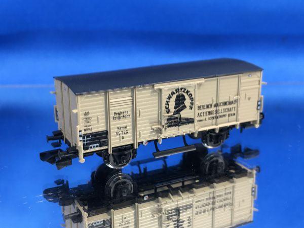 Brawa - 67468 - Gedeckter Güterwagen G10 BMAG Schwartzkopff DRG Ep. II
