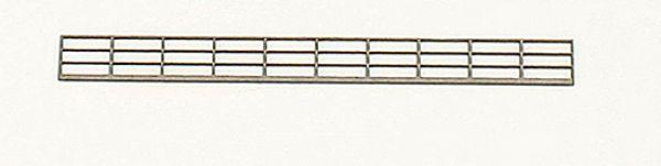 Joswood - 85002 - Industriegeländer 3-reihig (Bausatz)