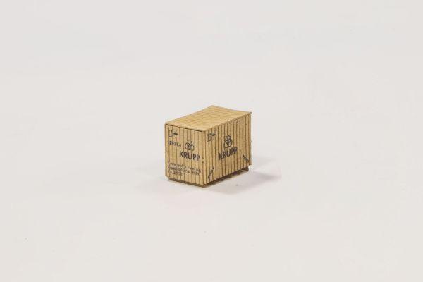 Joswood - 850158 - Kiste Krupp 3 Stück (Bausatz)