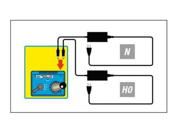 Kato Unitrack - 20-082 / 7078536 - Netzteil Spur N mit 0~12 V – 1,2 A