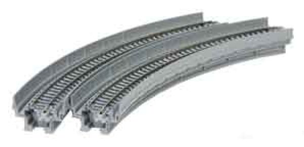 Kato Unitrack - 20-510 / 7077101 - Viadukt-NBS m. Gleis gebogen R 282-45° (2 Stück)