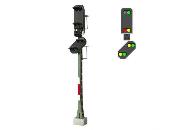 Mafen - 4134.108 -  DB-Haupt- und Vorsignal 7 Lichter grün/gelb/rot
