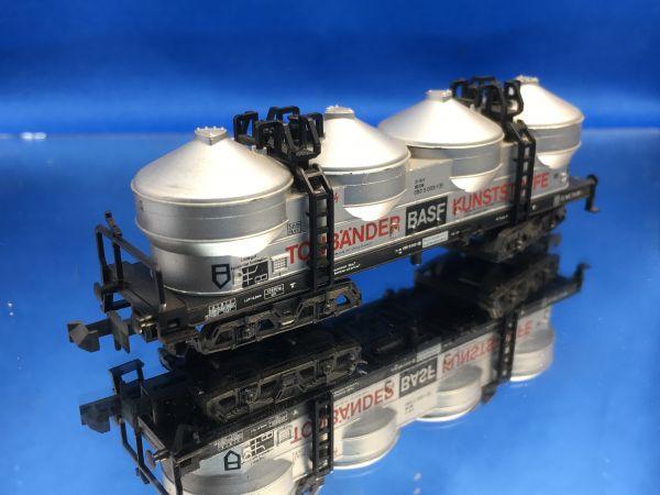 Minitrix - 51358600 / 13586 - Silowagen BASF Tonbänder Kunststoffe