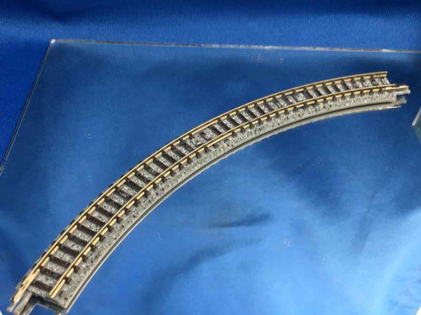 Tomix Fine Track - 1113-G-G - Gleis gebogen Radius 177, 60° (1 Stück)