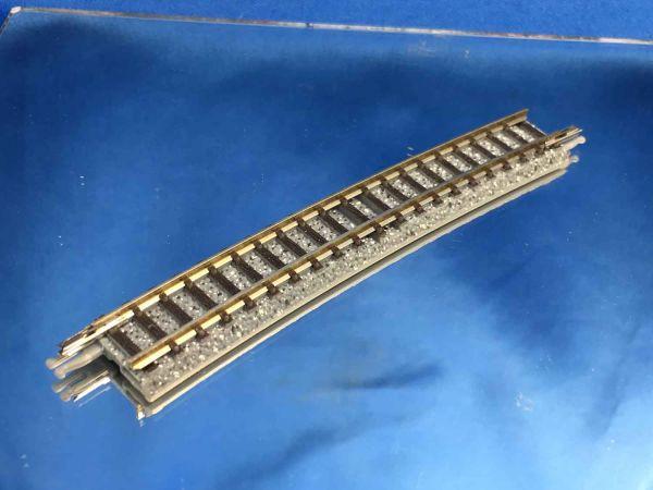 Tomix Fine Track - 1150 - Gleis gebogen C605-10 - Radius 605, 10°