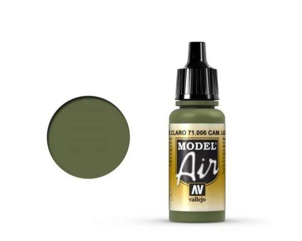 Vallejo Model Air - 71.006  / Light Green Chromate  (Airbrush Farbe) 17 ml