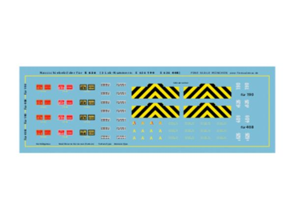 Spur-N-Teile.de - D06 - Decals for FS E 626