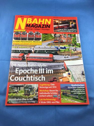 N-Bahn-Magazin (NBM) - 2017 - Juli / August - 04/2017