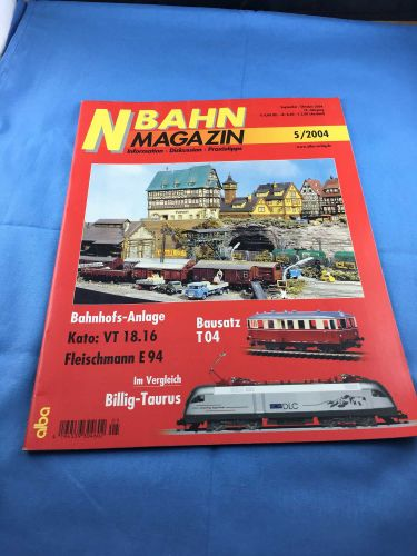 N-Bahn-Magazin (NBM) - 2004 - September / Oktober - 2004