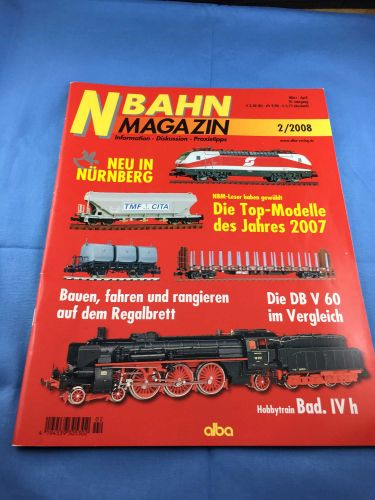 N-Bahn-Magazin (NBM) - 2008 - März / April- 2/2008