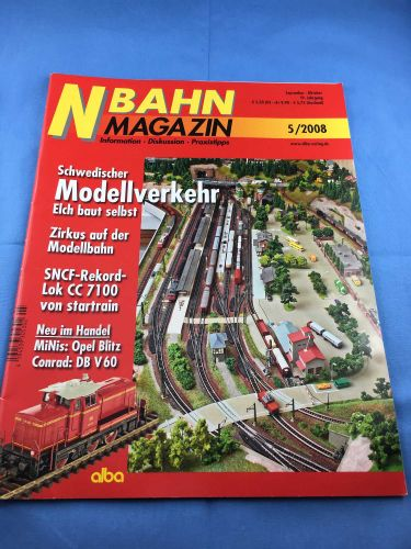 N-Bahn-Magazin (NBM) - 2008 - September / Oktober - 05/2008
