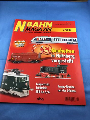 N-Bahn-Magazin (NBM) - 2009 - März / April- 2/2009
