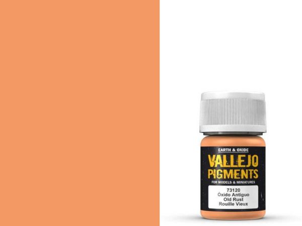Vallejo Pigment - 73.120 - Alter Rost 30ml