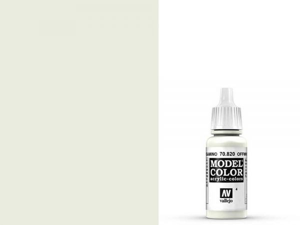 Vallejo - Model Color 004 Cremeweiss (70.820) - 17 ml