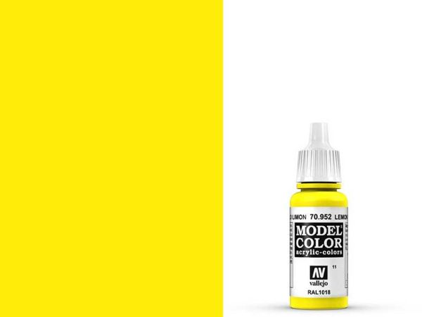 Vallejo - Model Color 011 Zitronengelb (70.952) - 17 ml
