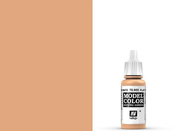 Vallejo - Model Color 018 Beige Hautfarbe (70.955) - 17 ml
