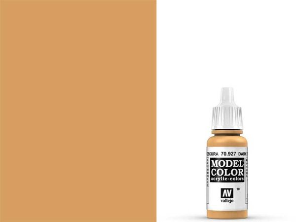 Vallejo - Model Color 019 Dunkle Hautfarbe (70.927) - 17 ml