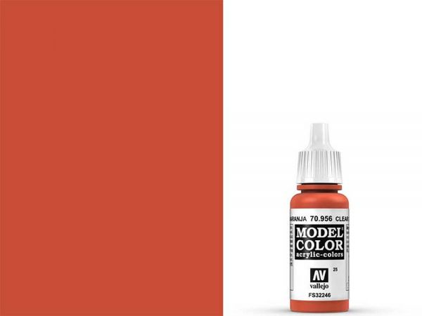 Vallejo - Model Color 025 Feuerrot (70.956) - 17 ml