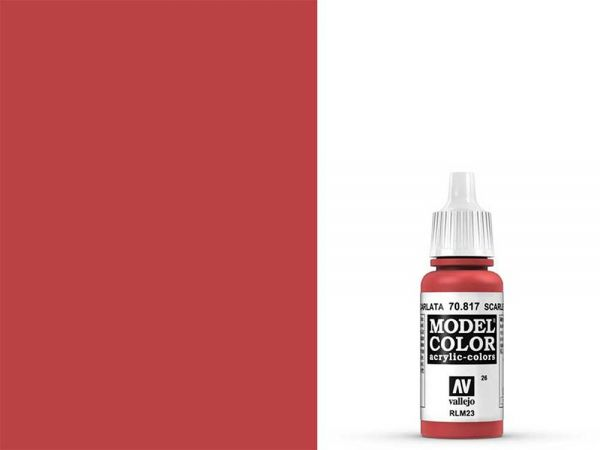 Vallejo - Model Color 026 Scharlachrot (70.817) - 17 ml