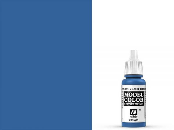 Vallejo - Model Color 053 Brilliant Blau (70.930) - 17 ml