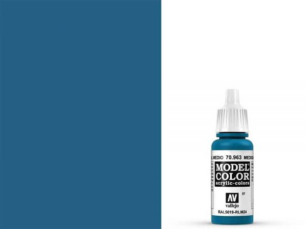 Vallejo - Model Color 057 Enzianblau (70.963) - 17 ml