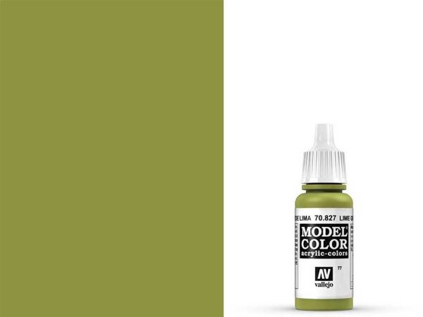 Vallejo - Model Color 077 Lindgrün (70.827) - 17 ml