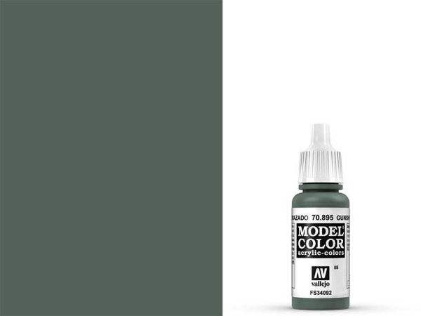 Vallejo - Model Color 088 Panzergrün (70.895) - 17 ml
