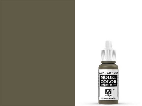 Vallejo - Model Color 093 Braunviolet (70.887) - 17 ml