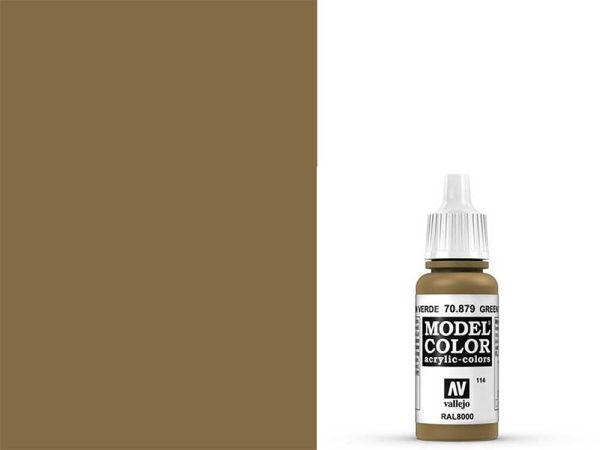 Vallejo - Model Color 114 Grünbraun (70.879) - 17 ml