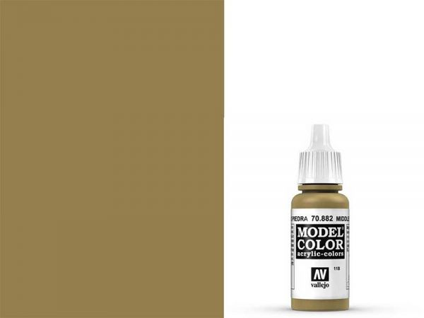 Vallejo - Model Color 118 Steingelb (70.882) - 17 ml
