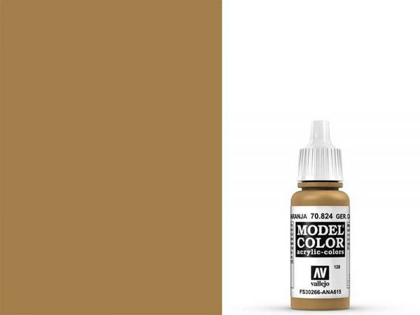 Vallejo - Model Color 128 Ockeror. Tarnung (70.824) - 17 ml