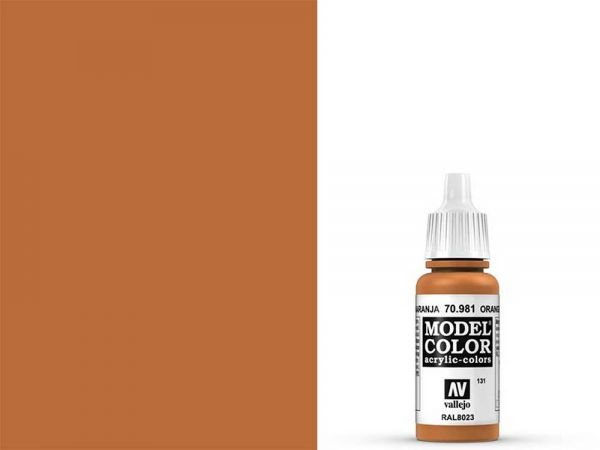 Vallejo - Model Color 131 Orangebraun (70.981) - 17 ml