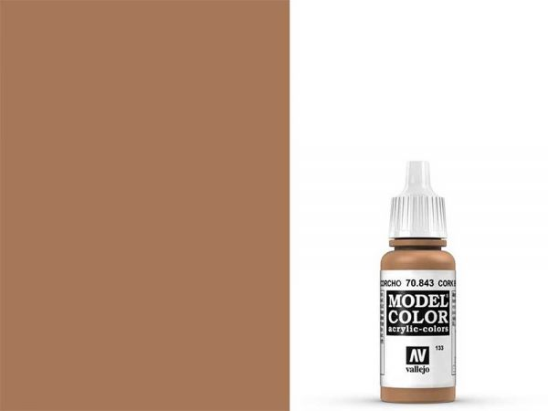 Vallejo - Model Color 133 Sandgelb (70.843) - 17 ml