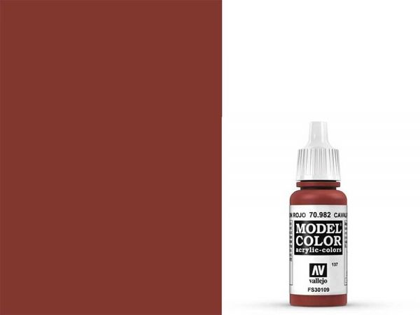 Vallejo - Model Color 137 Oxidrot (70.982) - 17 ml