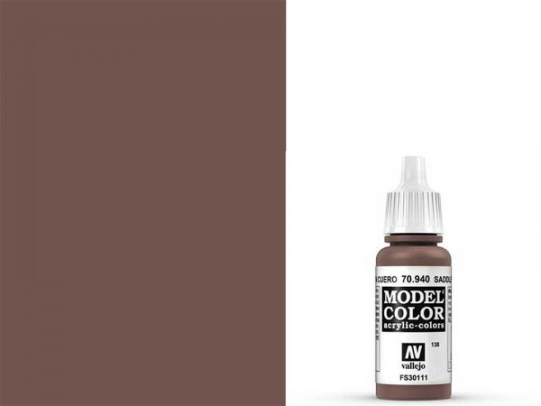 Vallejo - Model Color 138 Lehmbraun (70.940) - 17 ml