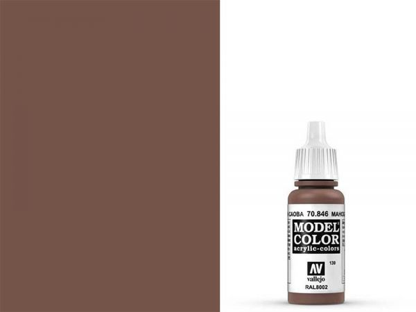 Vallejo - Model Color 139 Mahagonibraun (70.846) - 17 ml