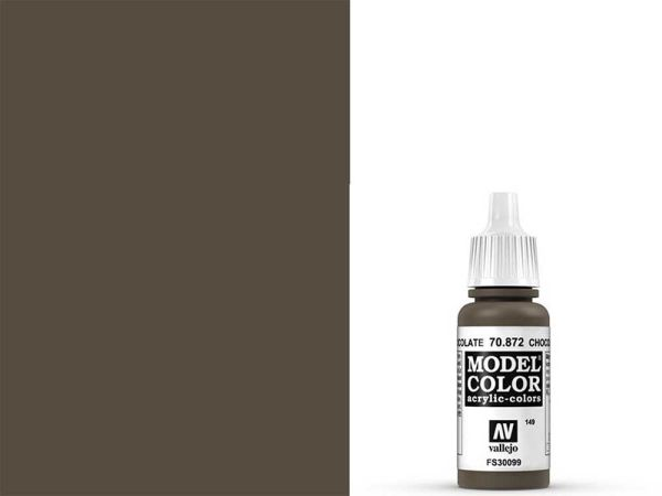 Vallejo - Model Color 149 Schokoladen Braun (70.872) - 17 ml