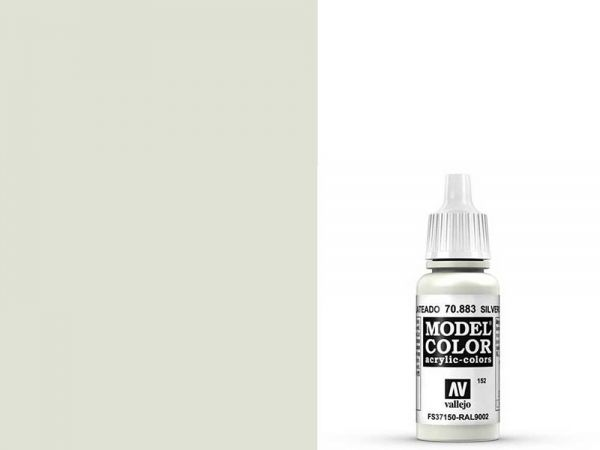 Vallejo - Model Color 152 Hellgrau (70.883) - 17 ml