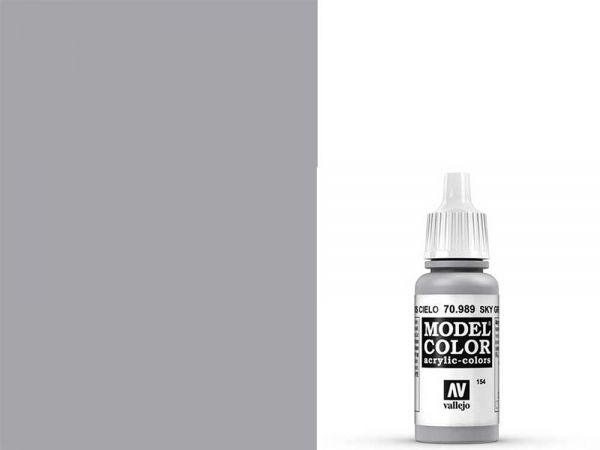 Vallejo - Model Color 154 Signalgrau (70.989) - 17 ml