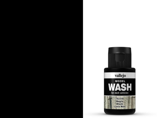 Vallejo Model Wash - 76518 - Schwarz 35 ml