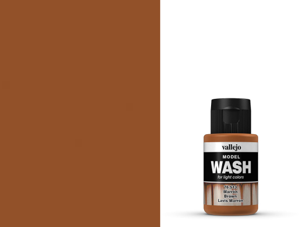 Vallejo Model Wash - 76513 - Braun 35 ml