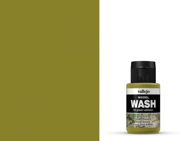 Vallejo Model Wash - 76512 - Dunkles Grün 35 ml
