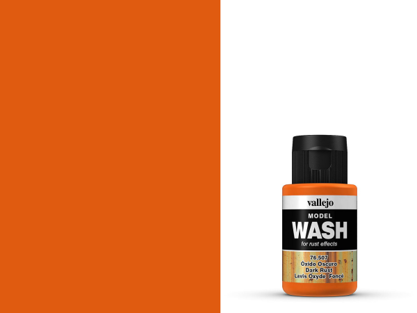 Vallejo Model Wash - Dark Rust 35 ml