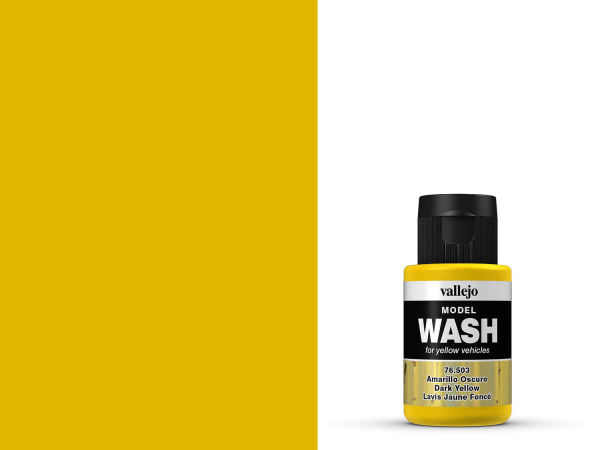 Vallejo Model Wash - Dunkles Gelb 35 ml