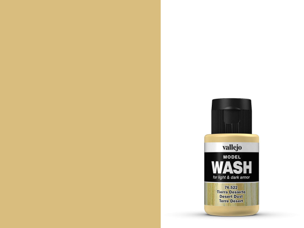 Vallejo Model Wash 76.522 - Wüstenstaub 35 ml