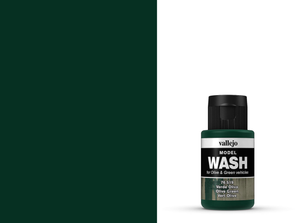 Vallejo Model Wash - Olivegrün 35 ml