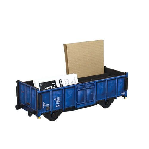 Werkhaus - WE2097 - Waggon blau Stiftebox